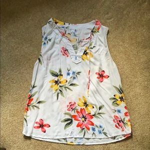 Old Navy Tropical Tank Top